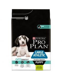 Proplan puppy large athletic à l'agneau