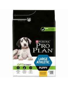 Proplan puppy large athletic au poulet