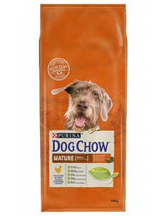 purina dog chow chien mature au poulet 14kg