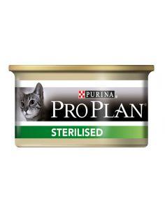 Proplan chat sterilised saumon et thon boite de85g