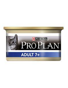 Prolpan chat adulte + 7 ans mousse au thon boite de 85g