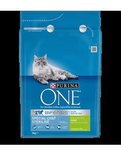 One spéciale chat stérilisé d'intérieur à la dinde et au blé