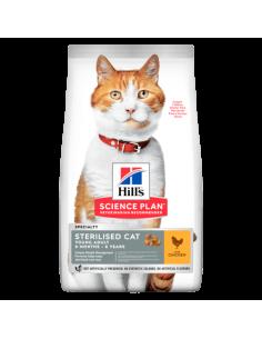 FELINE STERILISED CAT YOUNG  ADULT POULET 1.5KG
