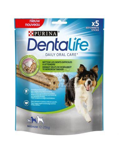 Dentalife chien medium( 12à25 kg) au poulet X5