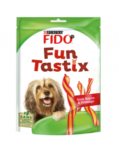 "Purina ""Fun tastix "" bacon fromage 150g"