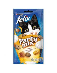 """Purina """"party mix original"""" Poulet, foie et dinde 60g"""