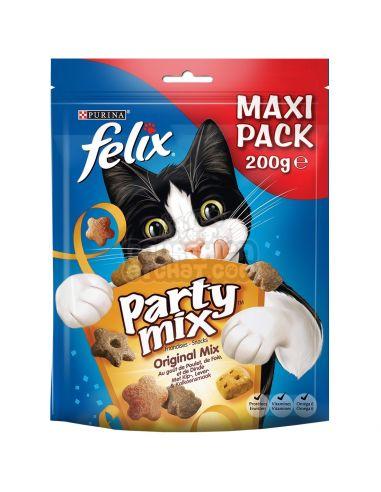 """Purina """"party mix original"""" Poulet, foie et dinde 200g"""