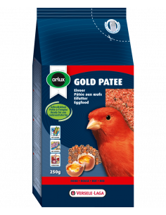 Gold pâtée canaris rouge 250g