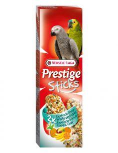 Prestige sticks fruits exotiques 2X140g pour perroquet