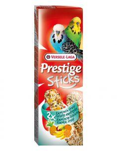 Prestige sticks fruits exotiques 2X60g pour perruches