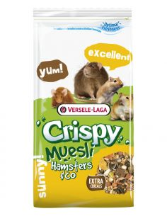 Crispy muesli hamster&co