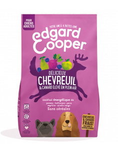CROQUETTE CHIEN ADULTE EDGAR COOPER CHEVREUIL