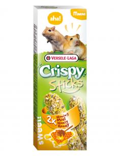 "Crispy "" sticks"" hamsters-gerbille au miel 110g"