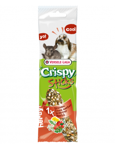 "Crispy ""sticks"" lapins-chinchillas fines herbes 110g"