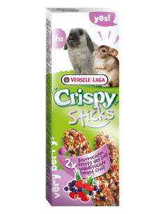 """Crispy """"sticks"""" lapins-chinchillas fruit des bois 110g"""