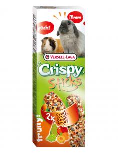 """Crispy """"sticks"""" lapins-cochons d'inde au fruits 110g"""