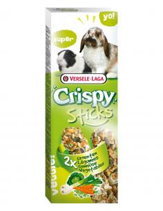 """Crispy """"sticks"""" lapins- cochons d'inde légumes 110g"""