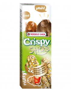 """Crispy """"sticks"""" rats et souris popcorn&noix 110g"""
