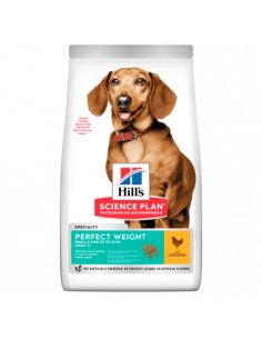 Chien Adulte Small & Mini Perfect Weight au Poulet 1.5KG