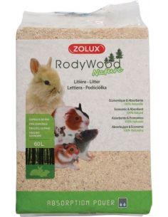 "Zolux litiére ""rodywood"" nature 60l"