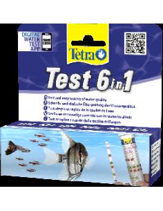 Tetra test bandelette 6 en 1 (25 bandelettes)