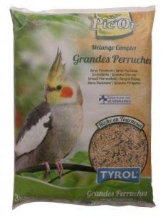 Tyrol - mélange pour Grandes Perruches - 3kg