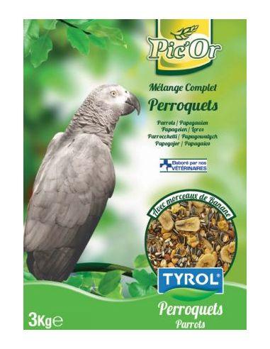 Tyrol mélange perroquet - 3kg