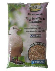 Tyrol mélange tourterelles et colombes - 1kg