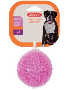 Zolux balle pic TPR 8 cm framboise