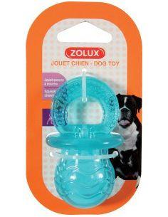 Zolux jouet TPR tetine 7,5 cm turquoise