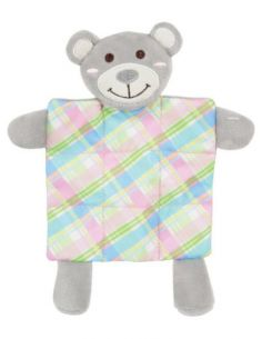 Zolux peluche puppy xs plaid gris