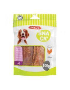 Zolux friandises chien snack' filet de poulet 100g