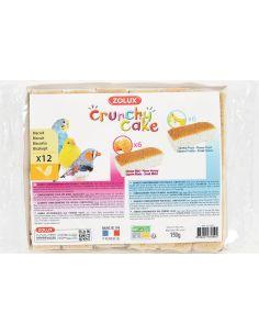 Zolux friandise oiseau  crunchy biscuit cake miel et fruits X12