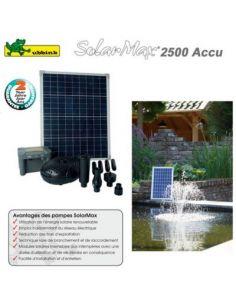 POMPE SOLAIRE POUR BASSIN SOLARMAX 2500