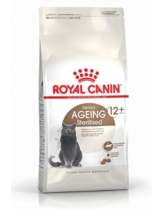 CROQUETTE CHAT AGEING STERILISED 12+ ROYAL CANIN
