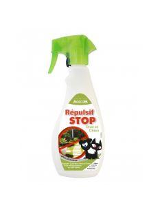 "Agecom répulsif ""STOP"" spray extérieur 500ml"
