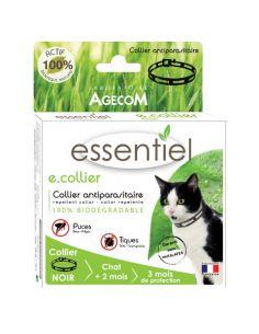 """Agecom """"Essentiel"""" collier antiparasitaire 2 couleurs"""