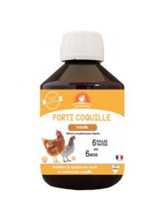 """Agecom """"Le fermier"""" forti coquille 250ml"""