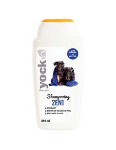 Shampoing pour Chien 2 en 1 Yock Bien-Être - 250 ML