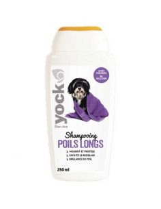 Shampoing Yock pour Chiens à Poils Longs 250 ML