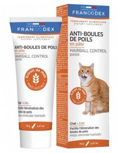 FRANCODEX Anti-Boules de Poils en Pâte 70G CHAT