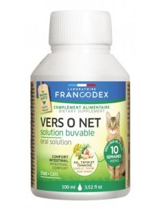FRANCODEX Vers O Net Solution Buvable 100ML CHAT