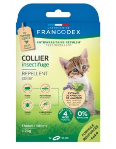 FRANCODEX Collier Insectifuge Pour Chatons