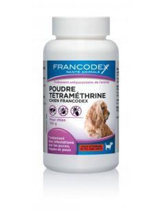 FRANCODEX Poudre Tétraméthrine Pour Chiens 150 G