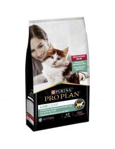 CROQUETTE CHAT LIVEClear Kitten Riche en Dinde 1,4 kg