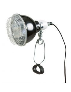 Lampe reflecteur à pince avec la grille de sécurité