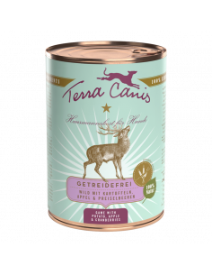 PATE TERRACANIS SANS CEREALES GIBIER 400G