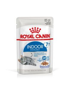PATE CHAT INDOOR7+ ROYAL CANIN 12X85G