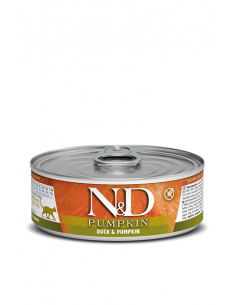 N&D chat canard & potiron 80G