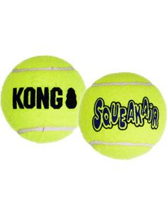 KONG AIR SQUEA BALLE TENNIS L(2PCS)